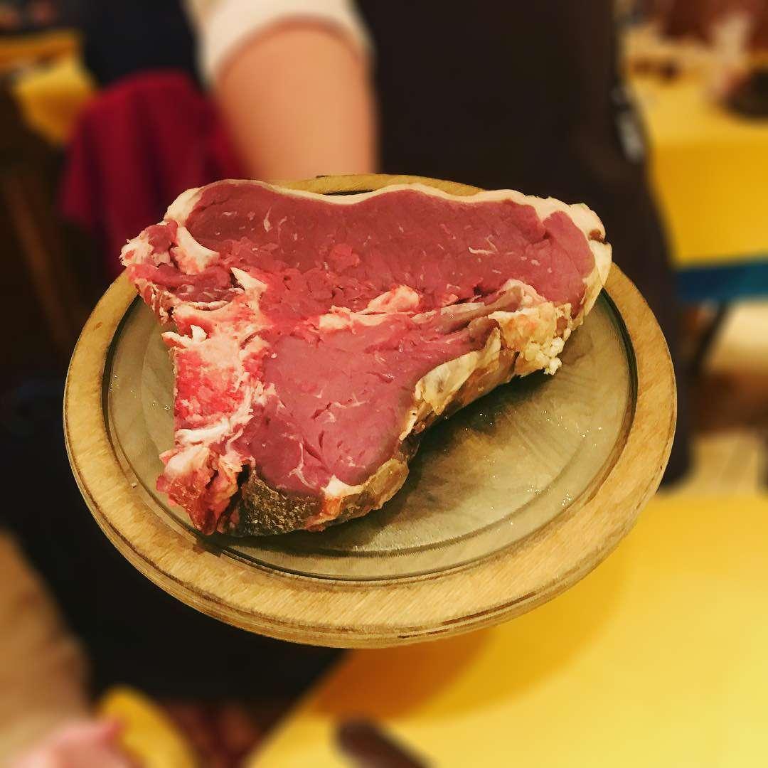 La carne del Ristorante Ra Stua di Cortina d'Ampezzo