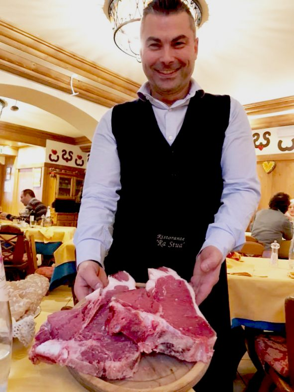 Matteo ristorante ra Stua Cortina